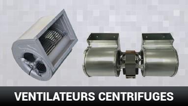 Ventilateurs centrifuge pour poêle à granulé