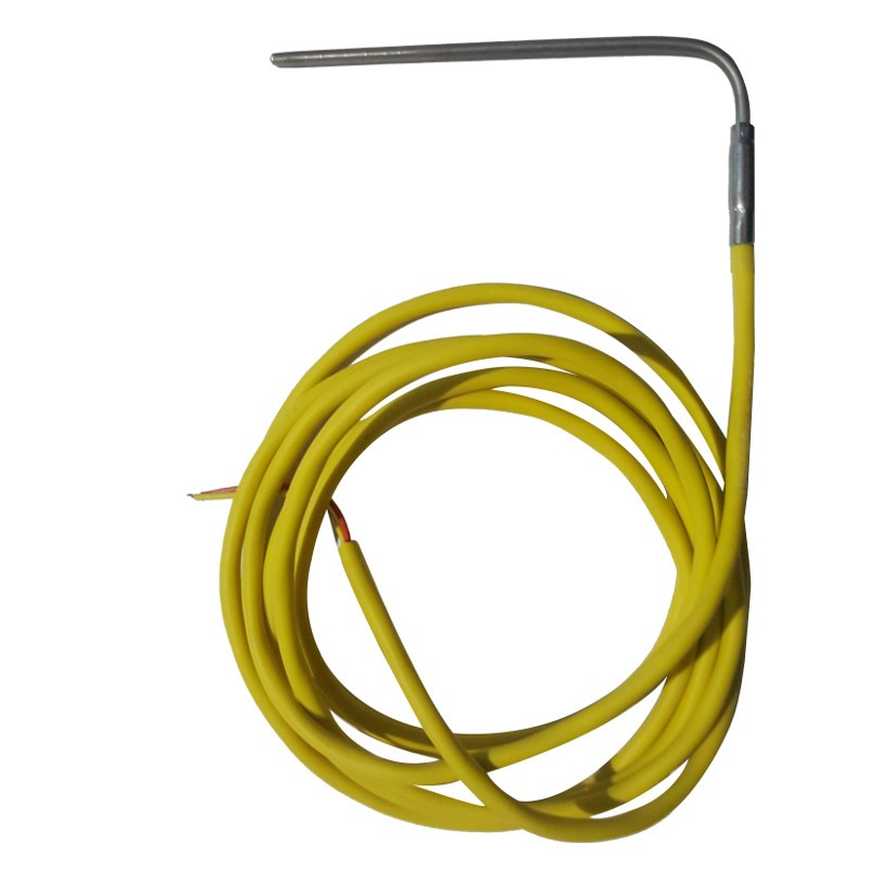 Thermocouple TCK câble silicone 2000mm bulbe incurvé