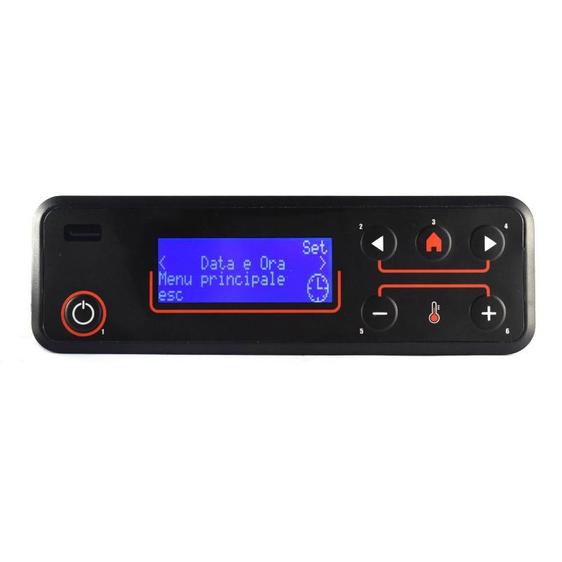 Clavier écran LCD PM046 MICRONOVA 6 touches