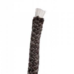 Tresse ARTICA noire 6mm bobine 200m