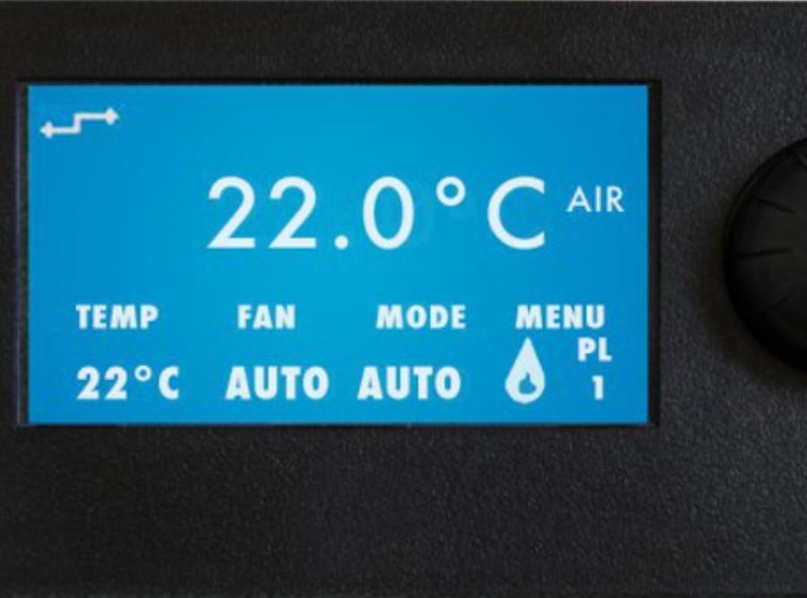 PANNEAU ÉCRAN LCD CEZA BOUTON ROTATIF