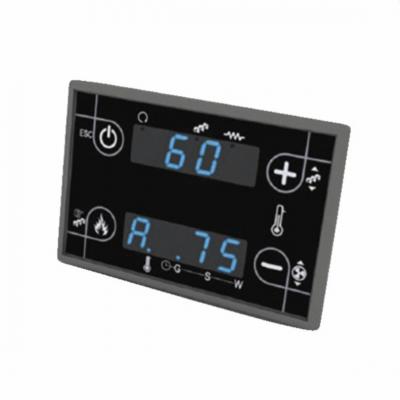 Clavier écran poêle à granulé pour cartes TIEMME Air et Idro