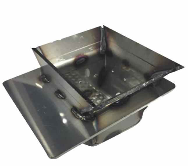 Creuset acier 84,7×104,7mm