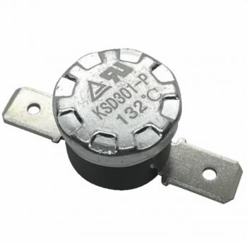 Thermostat bimétallique 132°C