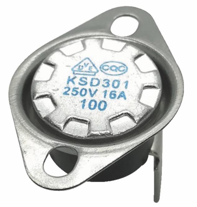 Thermostat bimétallique à bride 140°C