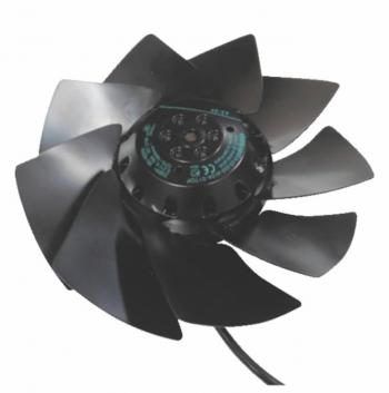 Ventilateur axial 27W pale métallique