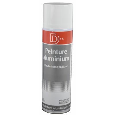 Peinture aluminium haute température aérosol